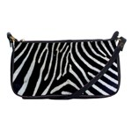 Zebra Print Big	 Shoulder Clutch Bag