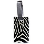 Zebra Print Big	 Luggage Tag (two sides)