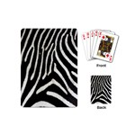 Zebra Print Big	 Playing Cards (Mini)