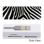 Zebra Print Big	Memory Card Reader (Stick)
