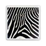 Zebra Print Big	Memory Card Reader (Square)