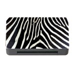 Zebra Print Big	Memory Card Reader with CF (Rectangular)