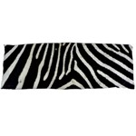 Zebra Print Big	Body Pillow Case Dakimakura (Two Sides)