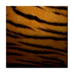 Tiger Print Dark	 Tile Coaster
