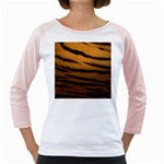 Tiger Print Dark	 Girly Raglan