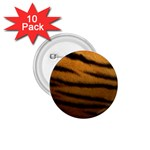 Tiger Print Dark	 1.75  Button (10 pack)