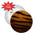 Tiger Print Dark	 2.25  Button (10 pack)