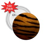 Tiger Print Dark	 2.25  Button (100 pack)
