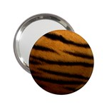 Tiger Print Dark	 2.25  Handbag Mirror