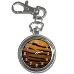 Tiger Print Dark	 Key Chain Watch