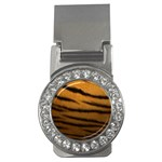 Tiger Print Dark	 Money Clip (CZ)