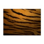 Tiger Print Dark	 Sticker (A4)
