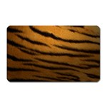 Tiger Print Dark	 Magnet (Rectangular)