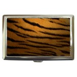 Tiger Print Dark	 Cigarette Money Case