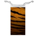 Tiger Print Dark	 Jewelry Bag
