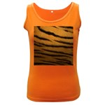 Tiger Print Dark	 Women s Dark Tank Top
