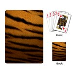 Tiger Print Dark	 Playing Cards Single Design