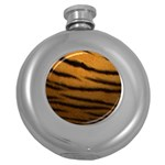 Tiger Print Dark	 Hip Flask (5 oz)