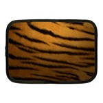 Tiger Print Dark	 Netbook Case (Medium)