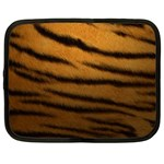 Tiger Print Dark	 Netbook Case (Large)