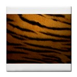 Tiger Print Dark	 Face Towel