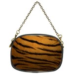 Tiger Print Dark	 Chain Purse (One Side)