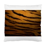 Tiger Print Dark	 Cushion Case (One Side)
