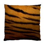 Tiger Print Dark	 Cushion Case (Two Sides)