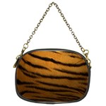 Tiger Print Dark	 Chain Purse (Two Sides)