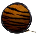 Tiger Print Dark	 Mini Makeup Bag
