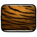 Tiger Print Dark	 Netbook Case (XL)