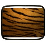 Tiger Print Dark	 Netbook Case (XXL)