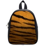 Tiger Print Dark	 School Bag (Small)