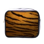 Tiger Print Dark	 Mini Toiletries Bag (One Side)