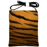 Tiger Print Dark	 Shoulder Sling Bag