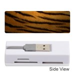Tiger Print Dark	Memory Card Reader (Stick)