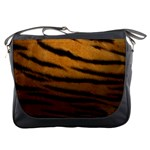 Tiger Print Dark	Messenger Bag