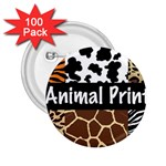 Animal Print	 2.25  Button (100 pack)