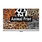 Animal Print	 Business Card Holder