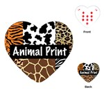 Animal Print	Playing Cards (Heart)