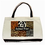 Animal Print	 Classic Tote Bag (Two Sides)