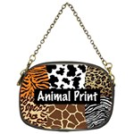 Animal Print	 Chain Purse (Two Sides)