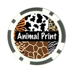 Animal Print	 Poker Chip Card Guard (10 pack)