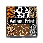 Animal Print	 Memory Card Reader with Storage (Square)