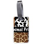 Animal Print	 Luggage Tag (two sides)