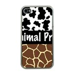 Animal Print	 Apple iPhone 4 Case (Clear)