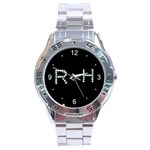 AAA_Pattern001 Stainless Steel Analogue Men's Watch