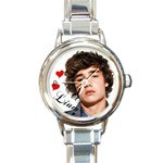 One Direction One Direction 31160676 1600 900 Round Italian Charm Watch