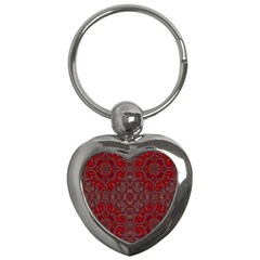 Red Mystic Key Chain (Heart) from ArtsNow.com Front