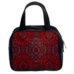 Red Mystic Classic Handbag (Two Sides) from ArtsNow.com Front
